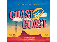"Coast 2 Coast Ride ""Gram-poster"""