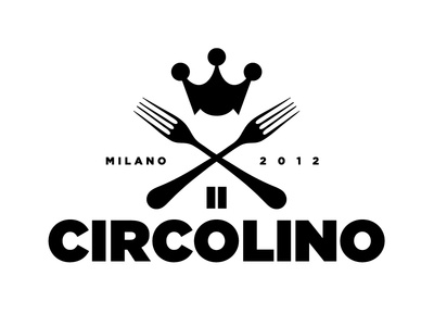 Logo proposal Circolino logo black and white design