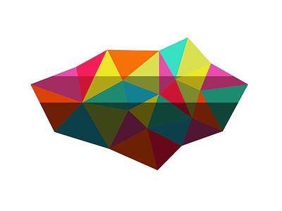 Something... polygonal bright geometric