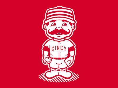 Cincy mlb bobblehead baseball