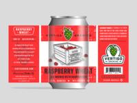 Vertigo Brewing -  Raspberry Wheat can