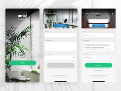 OfficeRequests iOS App