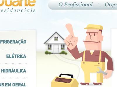 Website Interface website interface design web