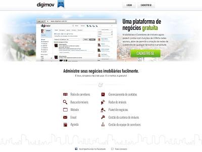 Digimov layout design interface ui