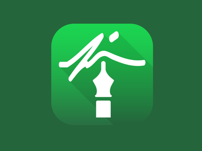 CareCloud App Icon - Contracts carecloud app icon flat long shadow