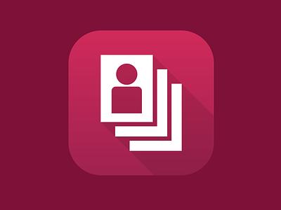 CareCloud App Icon - Case Management carecloud app icon flat long shadow