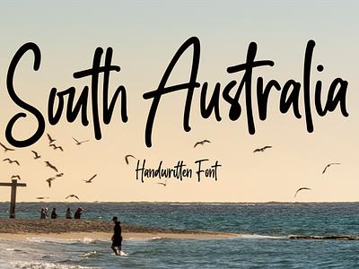 South Australia logo illustrator illustration vector typography lettering icon font design branding