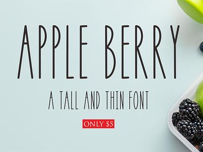 Apple Berry ui logo illustration vector typography lettering icon font design branding