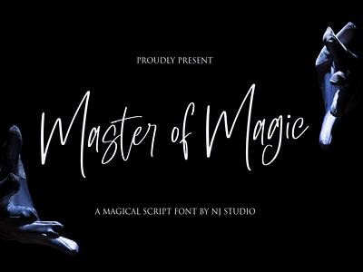 Master of Magic motion graphics graphic design 3d logo illustration animation ui vector typography lettering icon font design branding