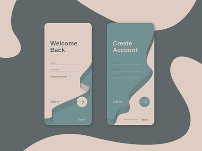 Daily UI #001 — Sign Up