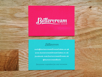 Buttercream Dream Business Card