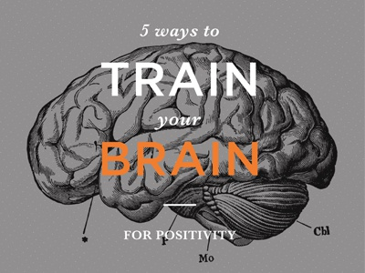 Train Brain Your Brain serif baskerville positivity drawing sketch dots orange bold gotham brain