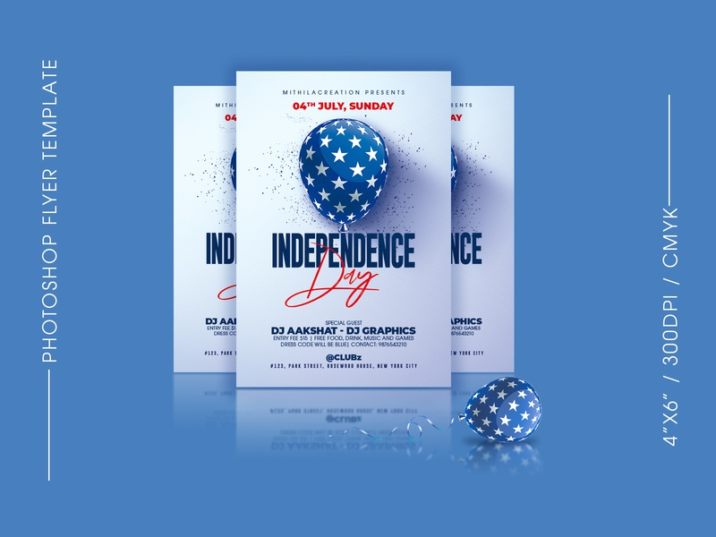 Independence Day Flyer holiday american flag american america club flyer flyer design celebration club flyer flyer template 4th july independence day independence day flyer independence 4thofjuly 4th of july