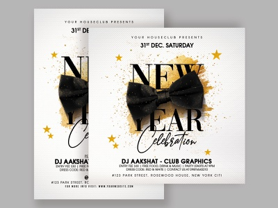 New Year Flyer flyer template flyer design flyer club flyer merrychristmas merry xmas xmas merry christmas christmas happy new year 2021 happy new year 2021 new year new year 2021 new years eve new year party new years new year