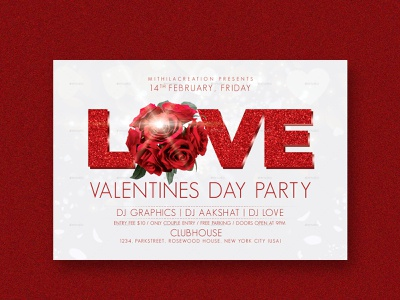 Valentine Day Flyer rose couple cupid iloveyou flyer design flyer love club club flyer valentines day card valentines day flyer valentines flyer happy valentines day valentines day valentinesday valentines valentineday happy valentine day valentine day valentine