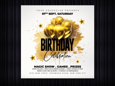 Birthday Flyer cake flyer design flyer club night club flyer club party flyer party kids birthday bday happy birthday party birthday celebration birthday invitation birthday bash birthday flyer birthday cake birthday card birthday party happy birthday birthday