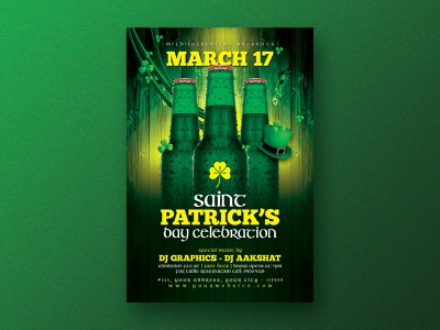 St Patrick's Day Flyer instagram post instagram flyer template flyer design flyer club flyer club clover saint patricks day saint patricks saint patrick patrick lee zepeda patricks day patricks patrick st patricks day st patricks st patrick
