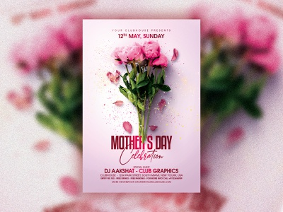 Mother's Day summer spring love flyer template flyer design club flyer flyer mom motherday mothers day party mothers day flyer mothersday mothers day mothers mother day party mother day flyer mother day mother