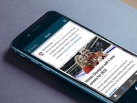 Curling Zone iOS app