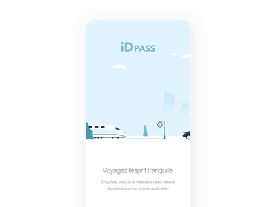 Onboarding Animation Mobility App