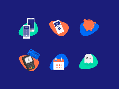 Mobile Banking Animation