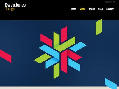 Owen Jones Design website