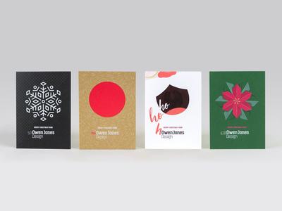 OJD Christmas Cards 2014–2017