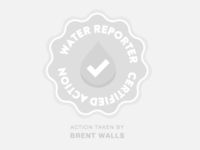 Water Reporter Resolved Pollution Issue Badge