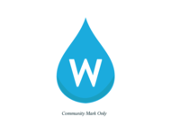 Revised Water Reporter logo