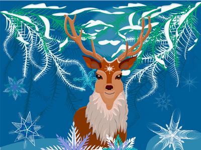 christmass deer