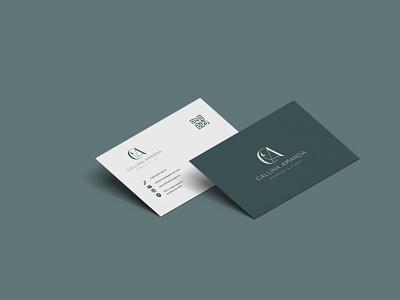 CA | ELEGANT bussines card branding minimalist elegant wedding graphic design logo