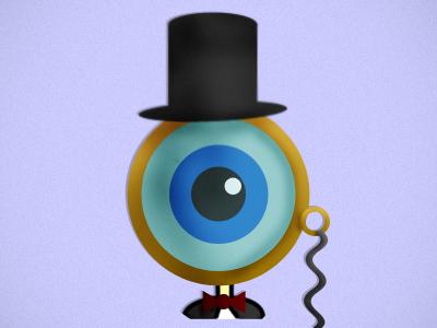 Eye'm Classy illustration monster character