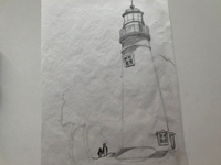 WIP: Lighthouse Sketch