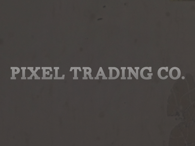 Pixel Trading Company carton font game pixel company trading