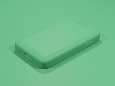 3D Mobile design colour iphone render eevee blender3d blender 3d