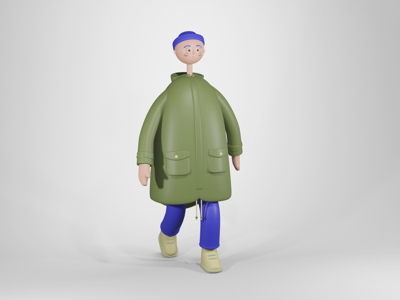 Character Design figure character character design render eevee blender3d blender
