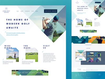 Golf Club UI