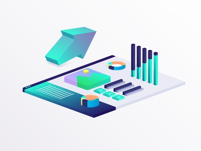 Isometric Dashboard