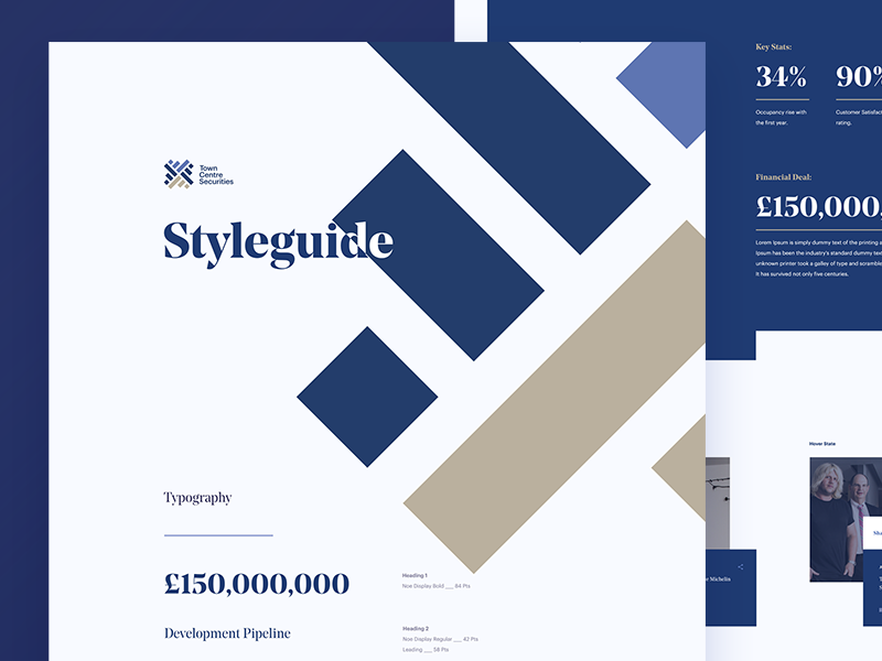 Digital Style Guide guidelines styleguide ux ui text style interface guide flat field colour clean