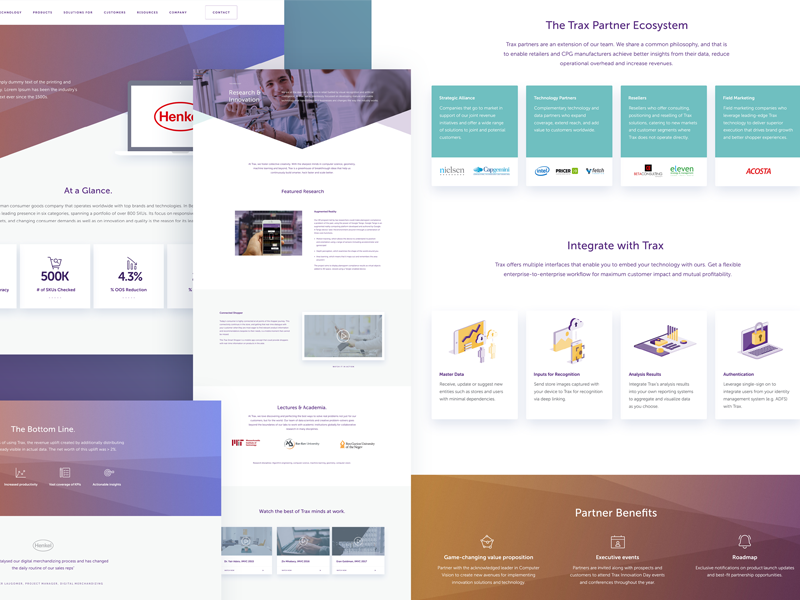 UI Samples web ux ui text style interface product flat field design colour clean