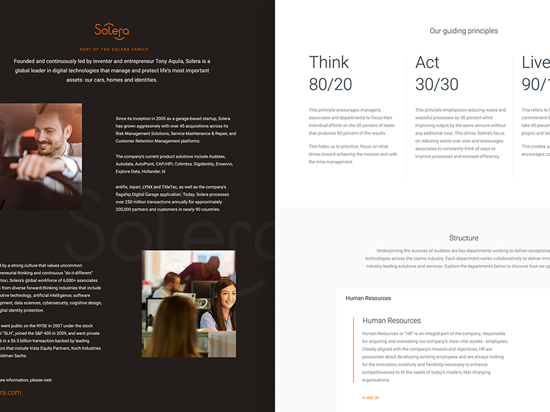 About Page ux ui search product navigation landing interface homepage flat colour about buttons