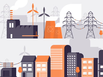 Utility Illustrations Pt.1 ux ui search product navigation landing isometric interface illustration homepage flat clean