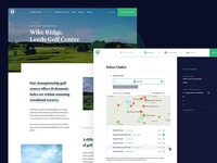 Golf UI Pages