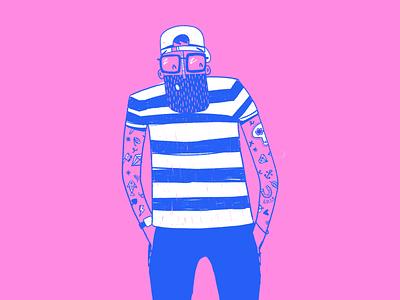 Side Hustle colour sketch ipad illustrator illustration procreate flat