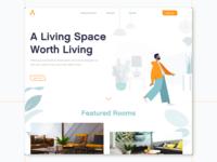 Interior Design Company - Landing Page