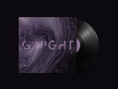 """G'night"" Mixtape / Playlist Cover Design"