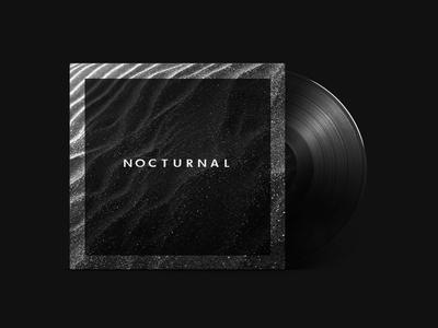 """""""Nocturnal"""" Mixtape / Playlist Cover Design"""