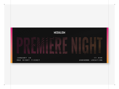 Premiere Night Event Ticket #1