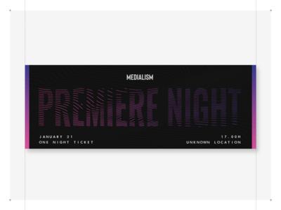 Premiere Night Event Ticket #1