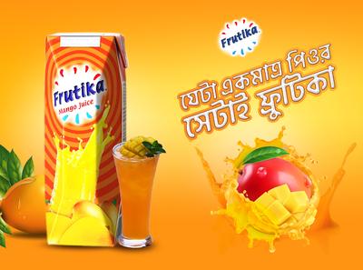 Frutika Mango Juice Concept Design
